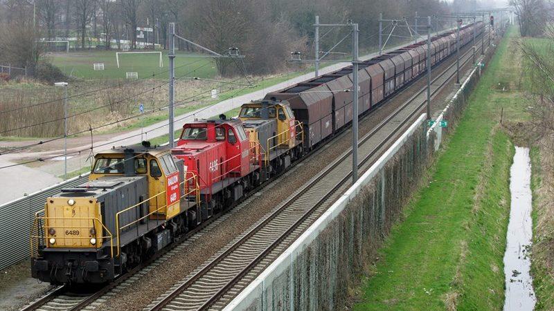 spoorgoederenvervoer vrachttransport